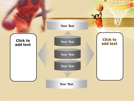 Free Basketball Players PowerPoint Template Slide 13
