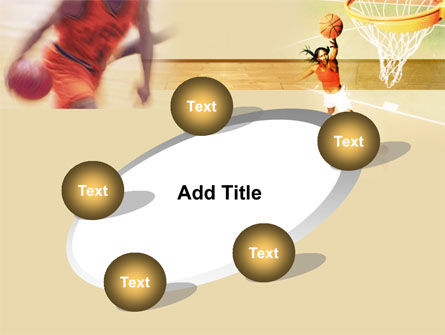 Free Basketball Players PowerPoint Template Slide 14