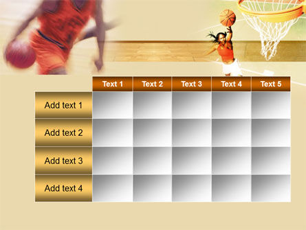 Free Basketball Players PowerPoint Template Slide 15