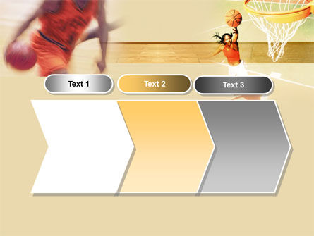 Free Basketball Players PowerPoint Template Slide 16