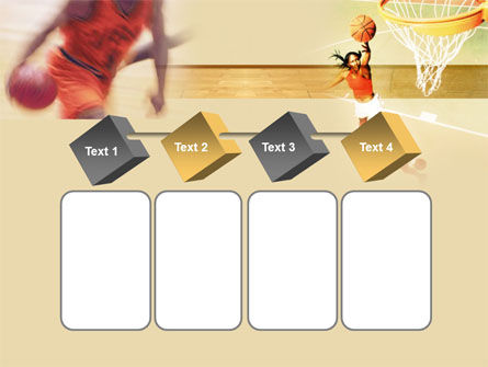 Free Basketball Players PowerPoint Template Slide 18
