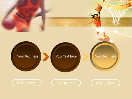 Free Basketball Players PowerPoint Template Slide 5