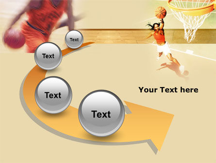 Free Basketball Players PowerPoint Template Slide 6