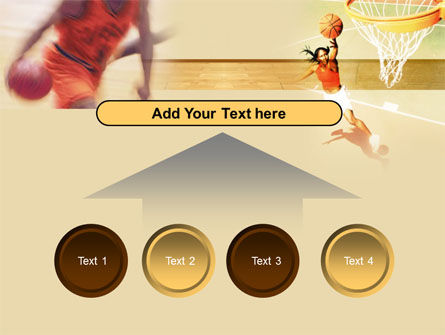Free Basketball Players PowerPoint Template Slide 8