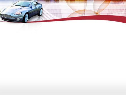 Super Car PowerPoint Template, Slide 2, 00137, Cars and Transportation — PoweredTemplate.com
