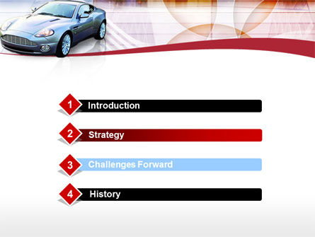Super Car PowerPoint Template, Slide 3, 00137, Cars and Transportation — PoweredTemplate.com