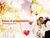 Holiday/Special Occasion: Huwelijk Gratis Powerpoint Template #00138