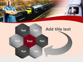 Truck Driver PowerPoint Template#11