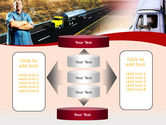 Truck Driver PowerPoint Template#13