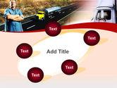 Truck Driver PowerPoint Template#14
