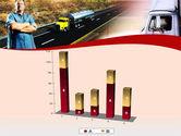 Truck Driver PowerPoint Template#17
