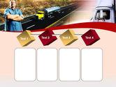 Truck Driver PowerPoint Template#18