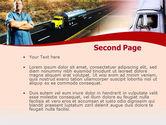 Truck Driver PowerPoint Template#2