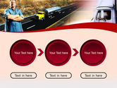 Truck Driver PowerPoint Template#5