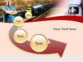 Truck Driver PowerPoint Template#6