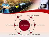 Truck Driver PowerPoint Template#7