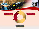 Truck Driver PowerPoint Template#9
