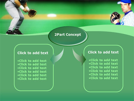 Baseball Thrower PowerPoint Template, Slide 4, 00140, Sports — PoweredTemplate.com