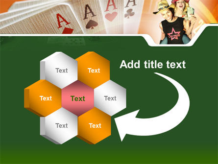 Card Games In Casino PowerPoint Template Slide 11