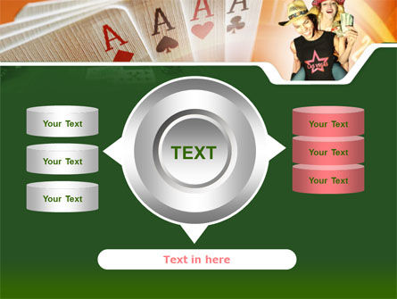 Card Games In Casino PowerPoint Template Slide 12