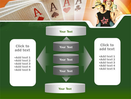 Card Games In Casino PowerPoint Template Slide 13
