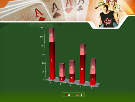 Card Games In Casino PowerPoint Template Slide 17