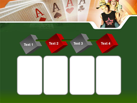Card Games In Casino PowerPoint Template Slide 18