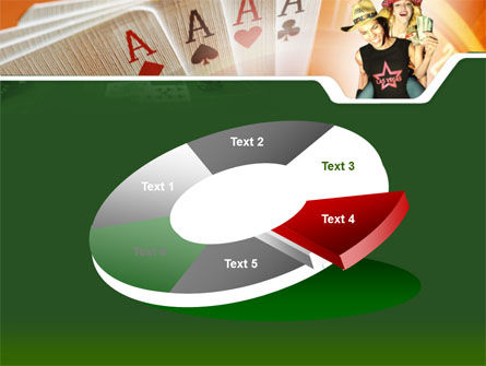 Card Games In Casino PowerPoint Template Slide 19