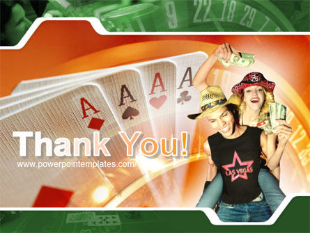 Card Games In Casino PowerPoint Template Slide 20