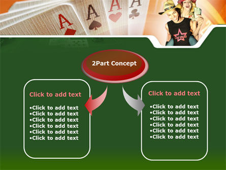 Card Games In Casino PowerPoint Template Slide 4
