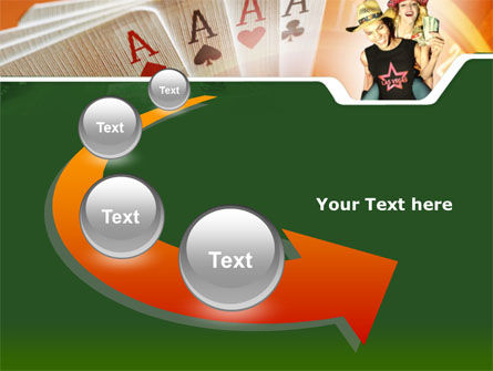 Card Games In Casino PowerPoint Template Slide 6