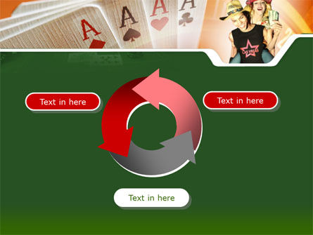 Card Games In Casino PowerPoint Template Slide 9