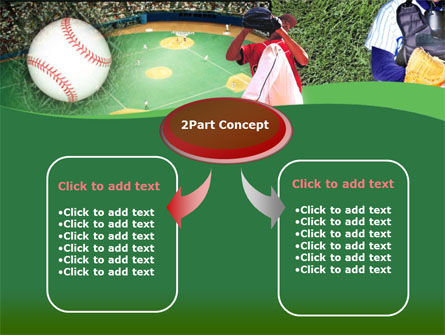 Baseball Catcher PowerPoint Template, Slide 4, 00142, Sports — PoweredTemplate.com