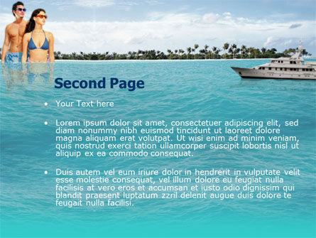 Exotic Cruise PowerPoint Template, Slide 2, 00143, Health and Recreation — PoweredTemplate.com