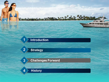 Exotic Cruise PowerPoint Template, Slide 3, 00143, Health and Recreation — PoweredTemplate.com