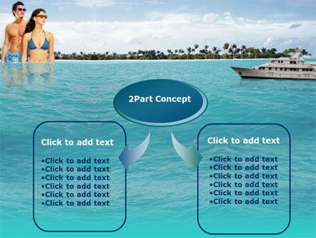 Exotic Cruise PowerPoint Template, Slide 4, 00143, Health and Recreation — PoweredTemplate.com