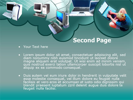 Personal Computer Types PowerPoint Template, Slide 2, 00145, Technology and Science — PoweredTemplate.com