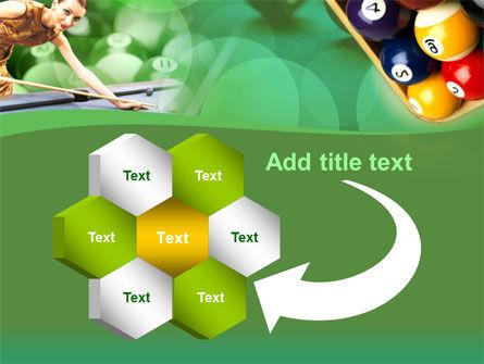 Billiard Player PowerPoint Template Slide 11