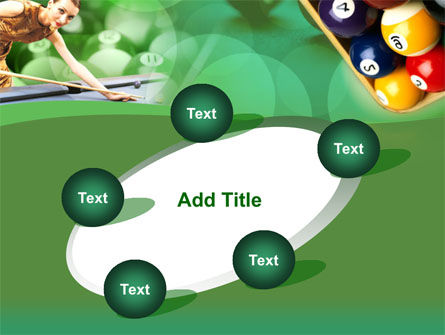 Billiard Player PowerPoint Template Slide 14