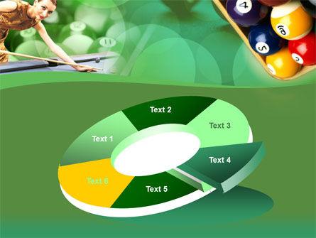Billiard Player PowerPoint Template Slide 19