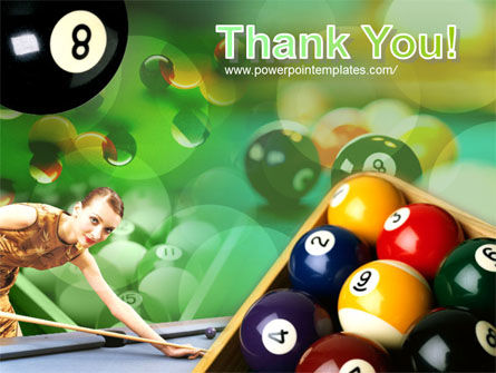 Billiard Player PowerPoint Template Slide 20