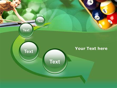 Billiard Player PowerPoint Template Slide 6