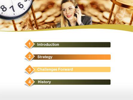 Business Secretary PowerPoint Template, Slide 3, 00149, Business — PoweredTemplate.com