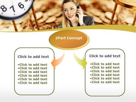 Business Secretary PowerPoint Template, Slide 4, 00149, Business — PoweredTemplate.com