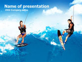 Sports: Surfing PowerPoint Template #00150