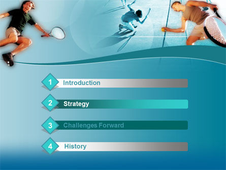 Lawn Tennis PowerPoint Template, Slide 3, 00153, Sports — PoweredTemplate.com