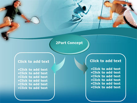 Lawn Tennis PowerPoint Template, Slide 4, 00153, Sports — PoweredTemplate.com