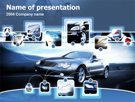 Cars and Transportation: Modelo do PowerPoint - escolha car #00155