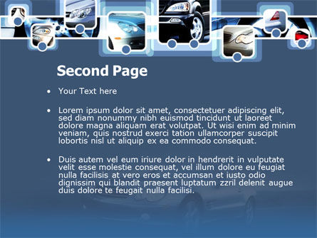 Car Choice PowerPoint Template, Slide 2, 00155, Cars and Transportation — PoweredTemplate.com