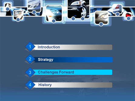 Car Choice PowerPoint Template, Slide 3, 00155, Cars and Transportation — PoweredTemplate.com